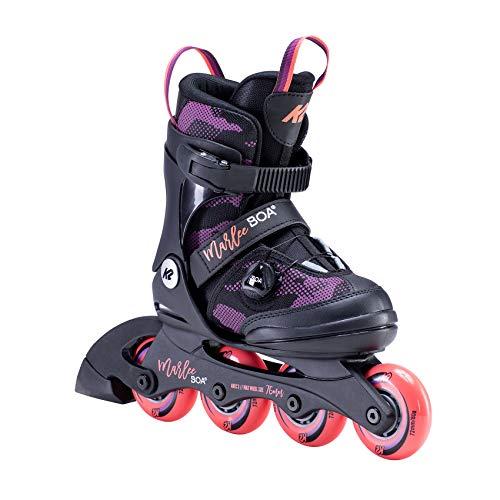 K2 Inline Skates MARLEE BOA Für Mädchen Mit K2 Softboot, Black -...