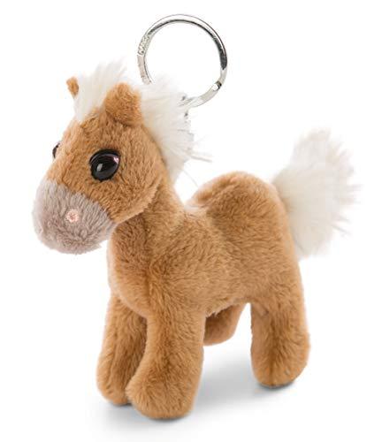 NICI 47101 Schlüsselanhänger Pony Lorenzo 10cm– Pferd Kuscheltieranhänger mit Schlüsselring für Schlüsselband, Schlüsselbund, Schlüsselhalter & Schlüsselkette – Taschenanhänger, BRAUN, 10 cm
