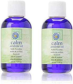 Clean Easy Calm After Wax Remove Azulene Oil for Sensitive Skin 2 oz (2 Packs)