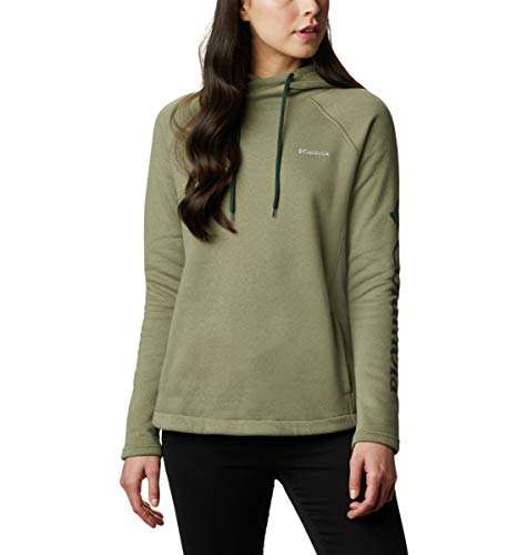 Columbia Women's Hart Mountain Graphic Hoodie, Soft Pullover