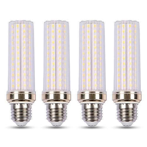 Lampadina E27 20W LED Bianco Fredda 6000K, 2000LM, Equivalente Alogena E27 150W, AC 230V, Luce 360°, Non Dimmerabile, Lampadine LED Mais per Lampade da Plafoniera/Terra, set di 4