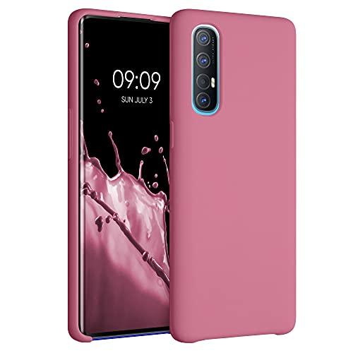 kwmobile Hülle kompatibel mit Oppo Find X2 Neo - Hülle Handyhülle gummiert - Handy Hülle in Bubblegum Pink