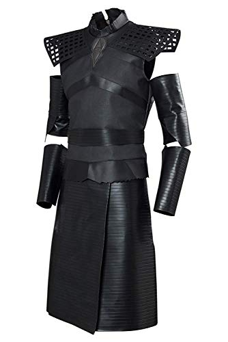 starfun GOT Game Night King Thrones Cosplay Costume Outfit Leader of The White Walkers Suit (XXX-Large, Male)