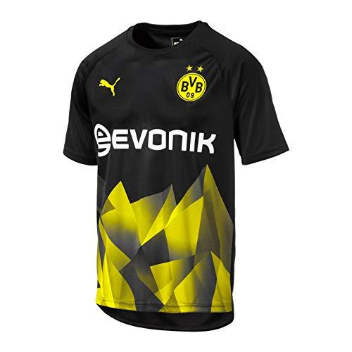 PUMA Borussia Dortmund International Cup Stadium Trikot 19/20 (XXL, schwarz)