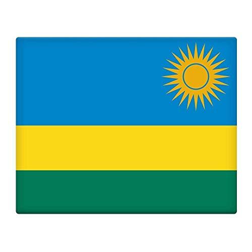 Rwanda Vlag 16X12