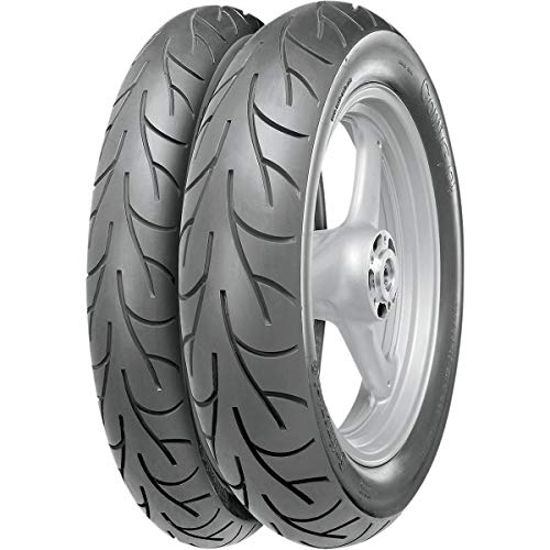 Continental Conti Go! Tire - Front - 3.25-19 , Position: Front, Tire Size: 3.25-19, Load Rating: 54, Speed Rating: H, Rim Size: 19, Tire Type: Street, Tire Construction: Bias, Tire Application: Touring 02400140000