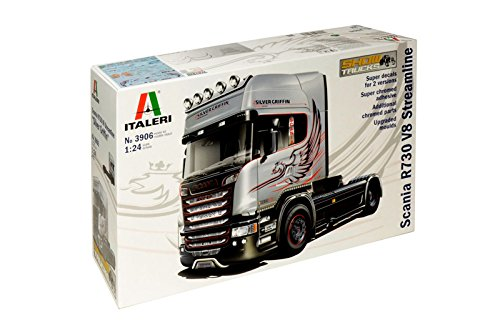 Italeri 510003906 1 : 24 Scania R730 Streamline 4 x 2 Figurines