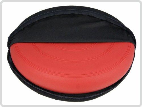 Bezug für alle Ballsitzkissen Ø 36cm, Sitzbezug, Bezug: Suedine, schwarz