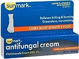 Sunmark Antifungal Cream Clotrimazole - 1 oz, Pack of 5