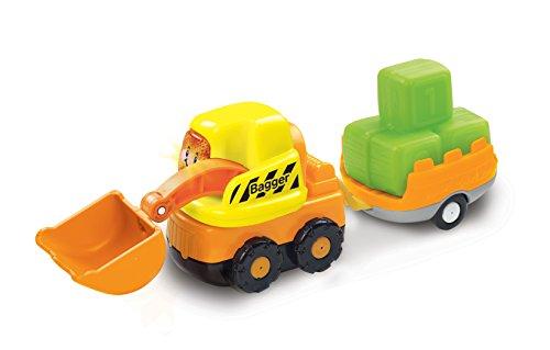 VTech Baby 80-183904 - Tut Tut Flitzer - Bagger und Anhänger