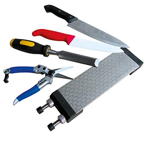 BEHA Diamant Messerschärfer, Diamantschleifstein, Schleifstein für alle Messerarten