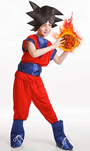 El Rey del Carnaval - Disfraz Goku Talla 3-5 Años