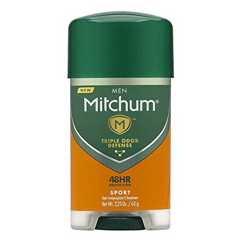 Mitchum Men Gel Antiperspirant Deodorant, Sport, 2.25oz (Pack of 6)