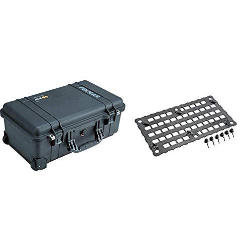Pelican 1510 Case Bundle - Case with Foam Plus Molle Panel for Lid