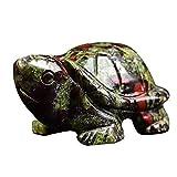 JYKFJ Mini estatuilla de Piedra de Tortuga, pecera Realista, estatuas de Tortugas Marinas, Carteles de Paisaje de Acuario, Mesa de figuritas de Fortuna y Suerte Feng Shui