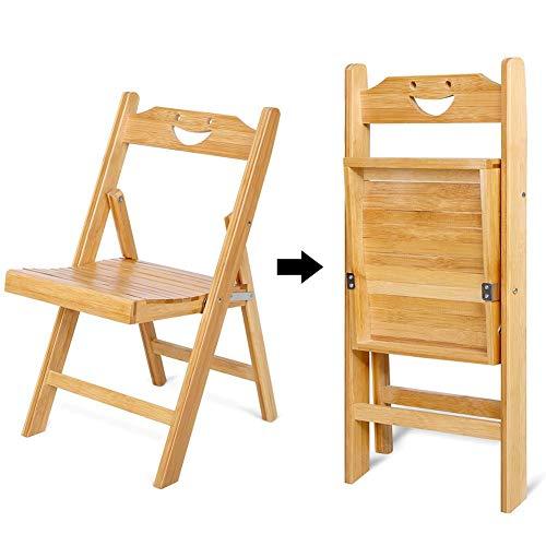 lyrlody Klapstoel, draagbare houten stoel, inklapbaar, voor binnen en buiten, 12,8 x 13,6 x 22,2 inch