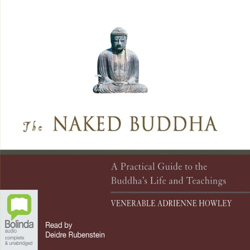 The Naked Buddha audiobook cover art