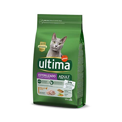 Ultima Cibo per Gatti Sterilizzato con Pollo e Orzo - 1.5 kg