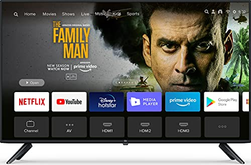 Mi 100 cm (40 Inches) Full HD Android Smart LED TV 4A|L40M5-5AIN (Black)