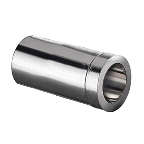 Ø 200 mm Schiedel ICS Doppelwandfutter gedämmt, kürzbar mit Ofenanschluss Ø 150 mm
