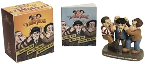 The Three Stooges: See No Evil, Hear No Evil, Speak No Evil (Mega Mini Kits)