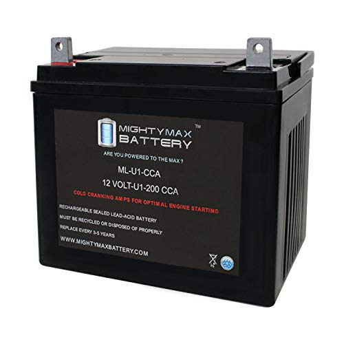 Mighty Max Battery ML-U1 12V 200CCA Battery for Craftsman 25780 Lawn Tractor and Mower Brand Product