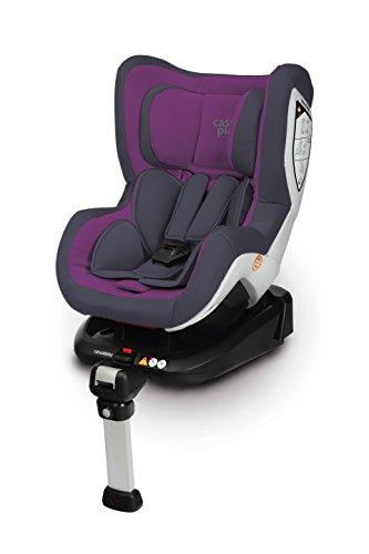 Casualplay Bicare Fix–Auto-Kindersitz, Gruppe 0/1 dunkelviolett