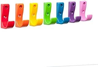 Toughook One Sac plastique incassable de sécurité et lot de 7 crochets murauxDifférentes couleurs disponibles.
