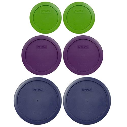 Pyrex Simply Store Replacement Lids for 12 Piece Storage Set - Lids Only