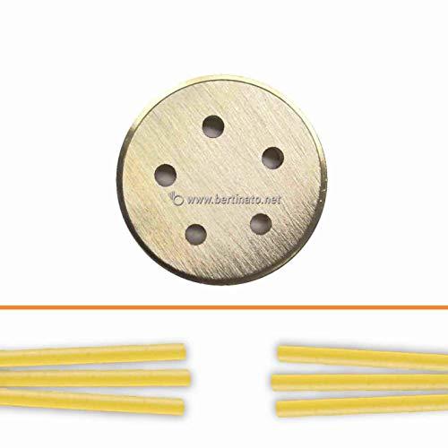 Trafila in bronzo per Pasta Pici toscani per macchina pasta fresca professionale La Fattorina 1,5kg