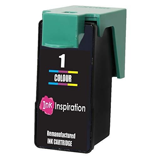 INK INSPIRATION Remanufacturado para Lexmark 1 Cartucho de Tinta Tricolor Compatible con Lexmark X2300 X2310 X2315 X2320 X2330 X2340 X2350 X2360 X2390 X2450 X2470 X2480 X3450 X3470 Z730 Z735