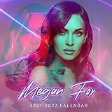 Megan Fox 2021-2022 Calendar: Calendar 2021-2022 ,18 months from July 2021 to December 2022 ? 8.5 x 8.5 inch High Quality Images