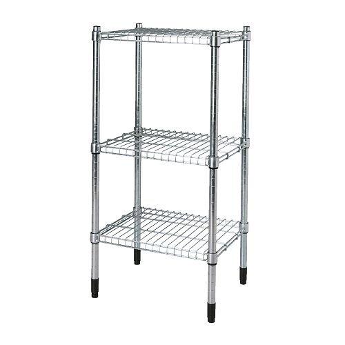 Ikea Omar–Scaffale, zincato–46x 92x 36cm