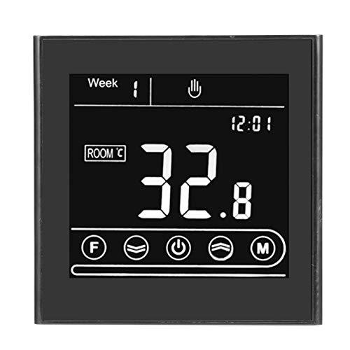 Controlador de temperatura, termostato inteligente programable, termostato de calefacción con control remoto, equipo eléctrico para oficina en casa
