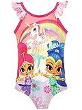 Shimmer & Shine Costume da Bagno per Ragazze Geni Rosa 5-6 Anni