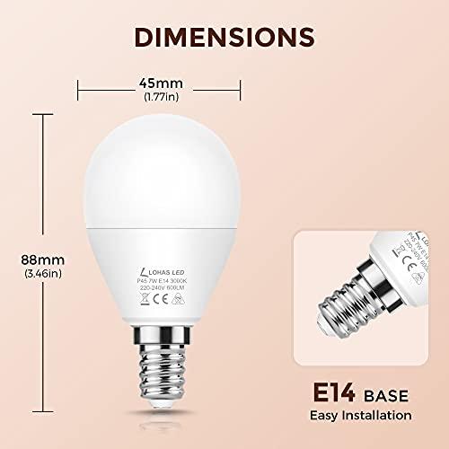 LOHAS-LED LH-QP096-E14-3000K-6