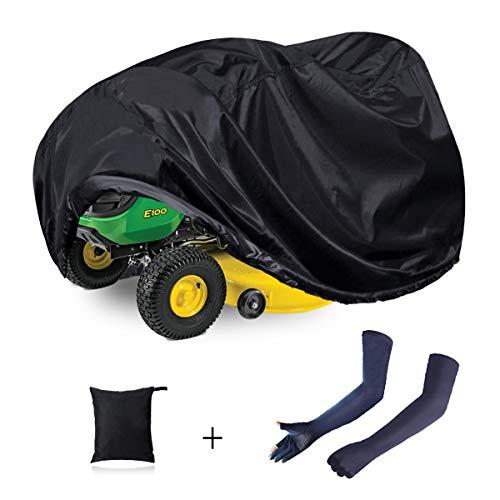 N/C ZAMDOE Cubierta para cortacésped Impermeable, Cubierta para Tractor, Ajuste Universal, Antipolvo, 210D, poliéster Oxford, protección UV