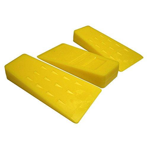 RocwooD 3 X tronçonneuse Plastique 12,7 cm d'abattage de Coupe à fendre Cales