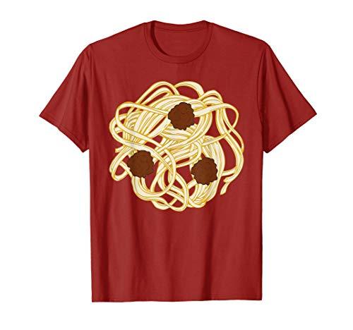 Funny Halloween Costume Food Spaghetti Meatballs Simple Safe