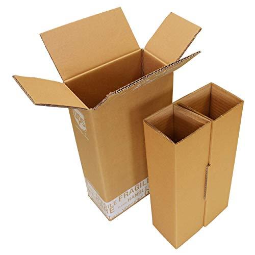 Flaschenversandkarton 2 Flaschen Weinkarton inkl. Einlagen Wein Sekt PTZ DHL zertifiziert UPS Flaschenkarton Weinversandkarton Hermes DPD Systema Cargo (5)