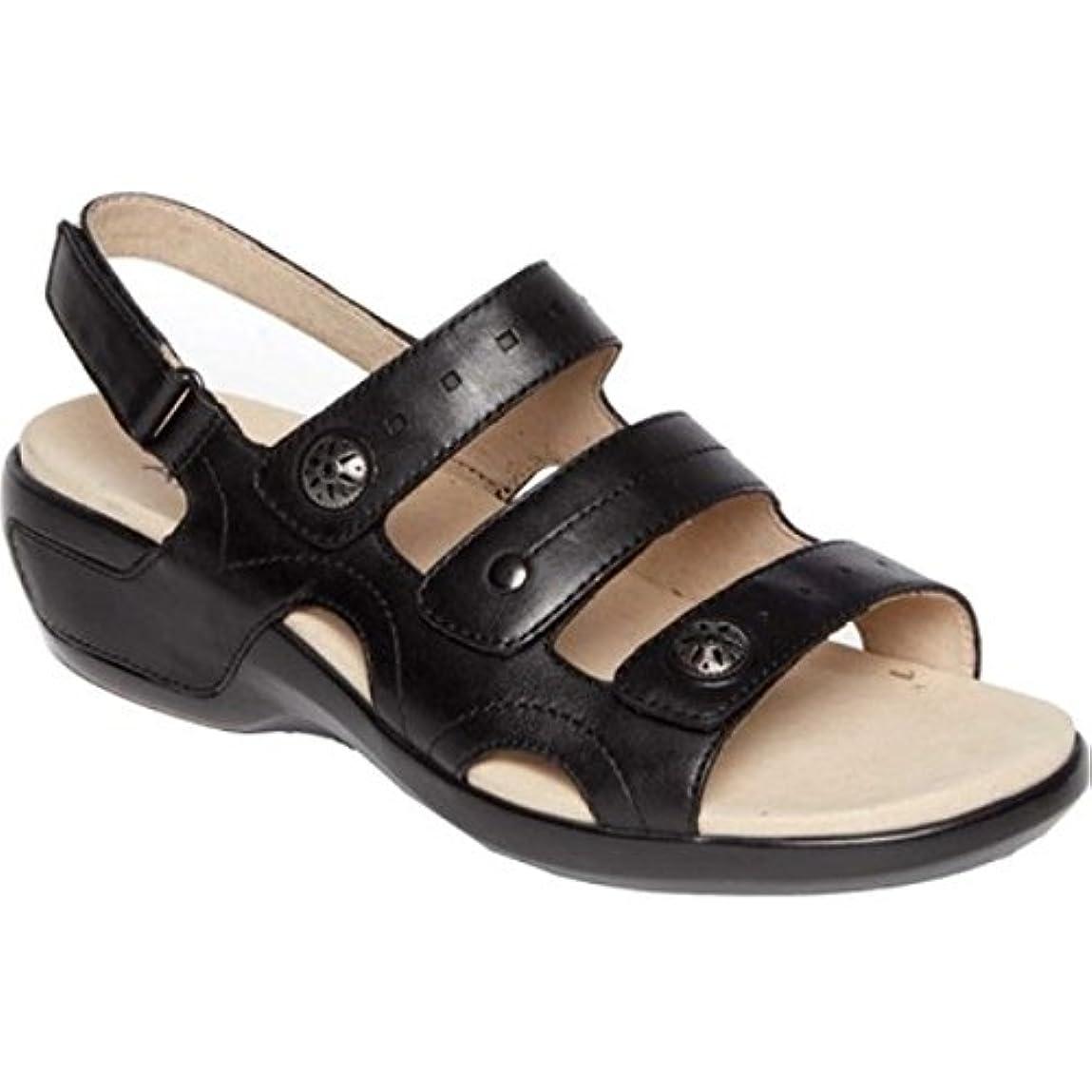 受け取る許されるグループ(アラヴォン) Aravon レディース シューズ?靴 サンダル?ミュール PC Three Strap Slingback Sandal [並行輸入品]