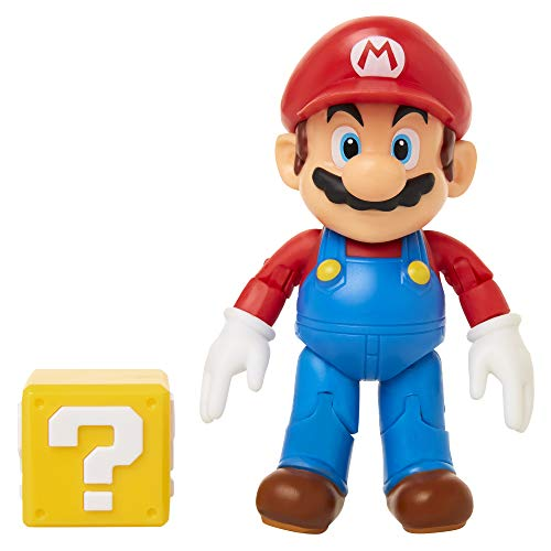 SUPER MARIO Nintendo 4' with Question Block