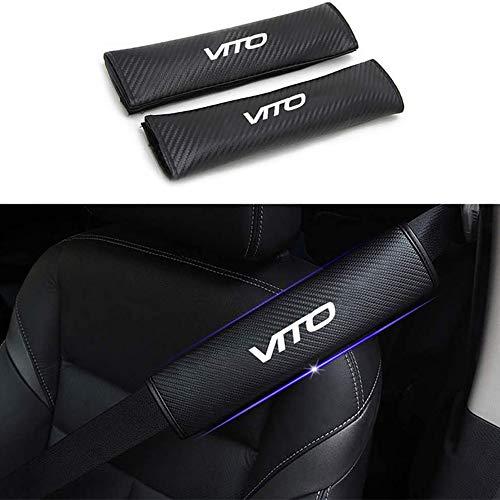 ZHLZH Gurtpolster Gurtschutz, für Mercedes Benz VITO Auto Sicherheitsgurt Bügel, Bügel Gurtschutz, 2 Stück