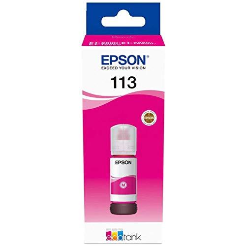 Epson C13T06B340 Tinte Magenta 70ml 6000 Seiten Flasche EcoTank 5800 pigmentiert