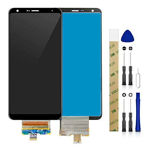 for MetroPCS LG Stylo 5 LM-Q720MS LCD Screen Display Assembly Touch Screen Digitizer Panel Glass Replacement Tool Black No Frame