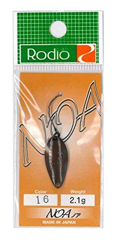 Rodiocraft(ロデオクラフト) NOA(ノア) 2.1g #16 チョコレート スプーン ルアー