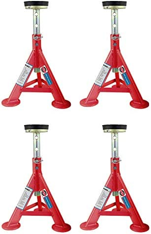 Esco 89401 Heavy Duty 3 Ton Adjustable Performance Car Truck Jack Stand with Removable Rubber product image