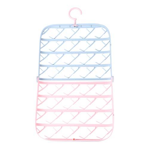 UPKOCH Hänge Wäschetrockner Sockentrockner Socken Kleiderbügel Kleiderhaken Klappbar für Unterwäsche BH Schlafsack Babykleidung Handschuhe