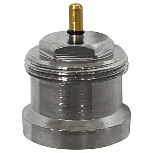 Eurotronic 700098 Oventrop Metalladapter für elektronische Heizkörperthermostate, Metall