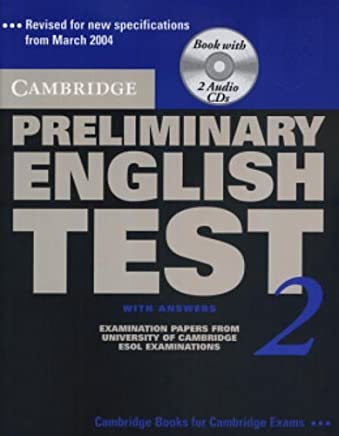 Cambridge Preliminary English Test 2 Self-study Pack: Examination Papers from the University of Cambridge ESOL Examinations (PET Practice Tests) by Cambridge ESOL(2003-09-08)